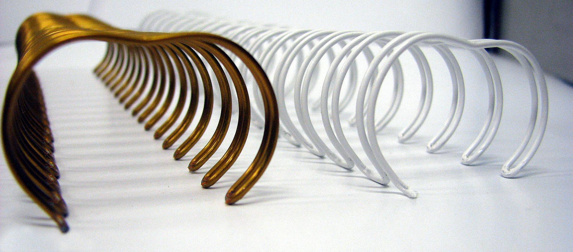 Пружина металлическая в нарезке